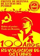 100 años revolucion de 0ctubre FDLP-EC