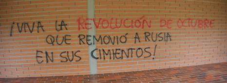 Kolumbien - Aktionen_Oktoberrevolution