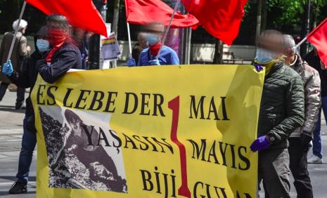 Internationalistische AktivistInnen aus der Türkei und Kurdistan