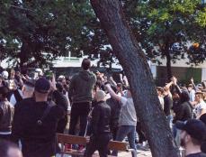 Faschisten im Wielandpark