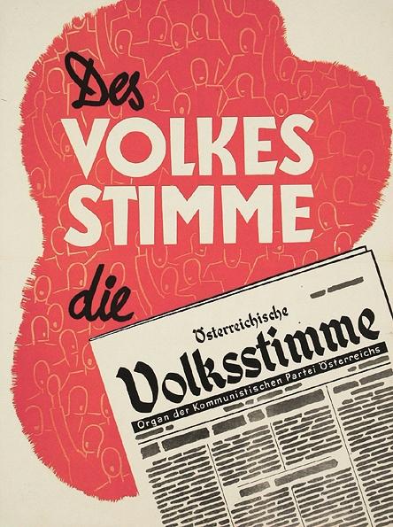 Des Volkes Stimme - Österreichische Volksstimme